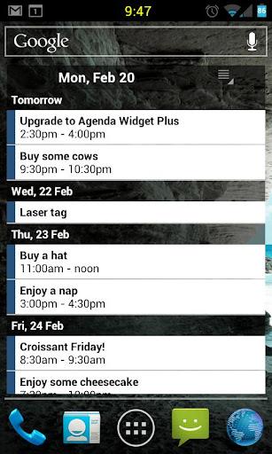 Agenda Widget Plus v2.1.25