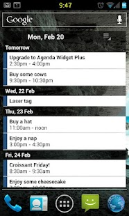 Agenda Widget Plus - screenshot thumbnail