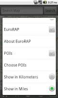 Screenshot of iBiker