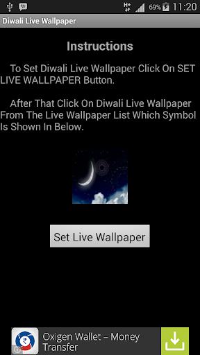 Diwali Livewallpaper
