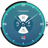 Navy Weather Wear for Moto 360