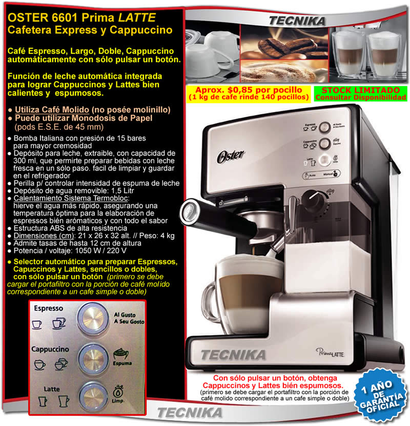 Manual oster prima latte abbece7d2726