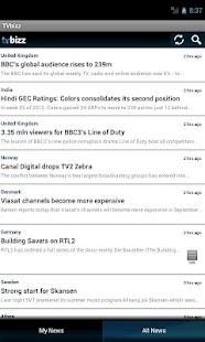 TVbizz- screenshot thumbnail