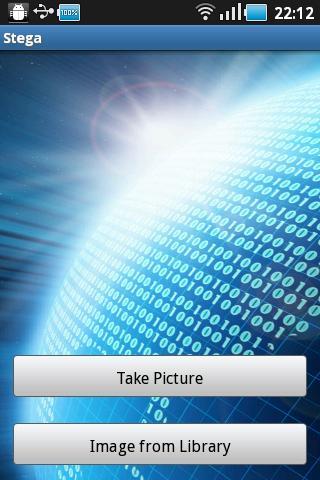 Stega- screenshot