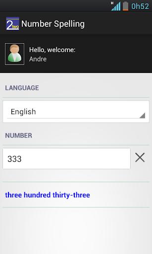 【免費工具App】Number Spelling-APP點子