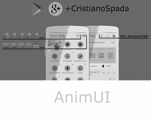 AnimUI CM11 THEME WHITE