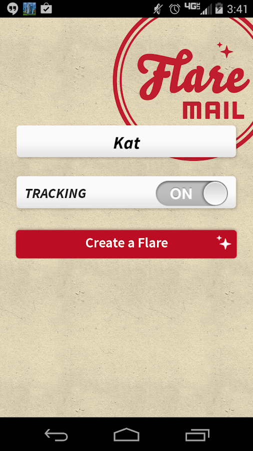 FlareMail- screenshot