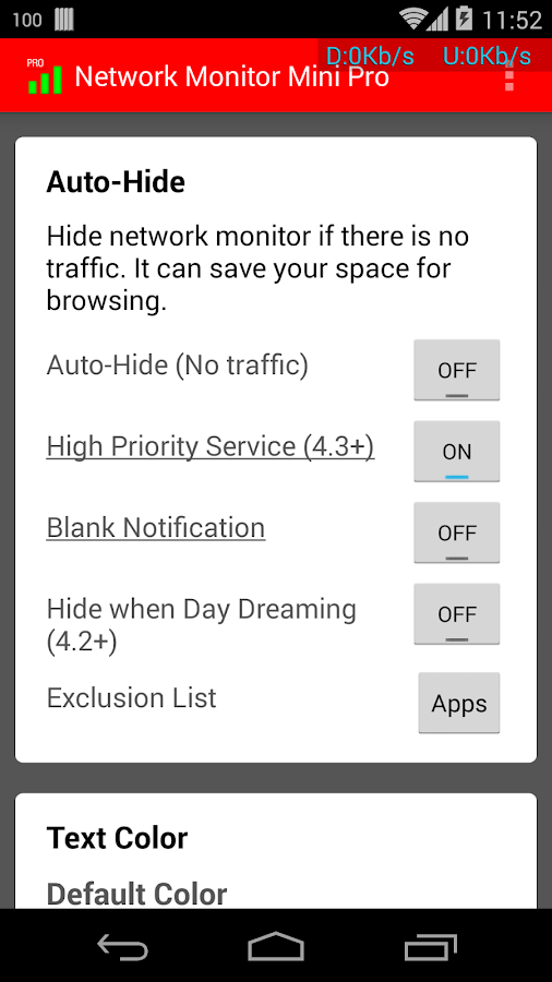 Network Monitor Mini Pro - screenshot