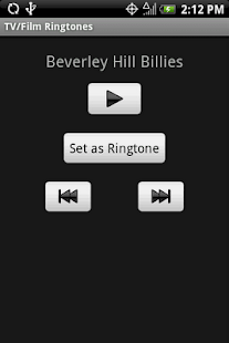 TV/FILM Ringtones - screenshot thumbnail