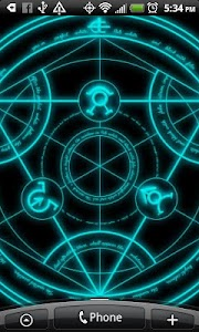 Transmutation Live Wallpaper screenshot 1