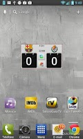 Screenshot of Widget La Liga PRO 2015/16