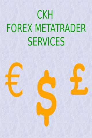CKH Forex Metatrader Services