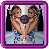 Download Mirror Cute Girl Photo Editor APK to PC