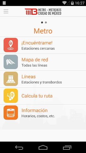 Metro - Metrobús México