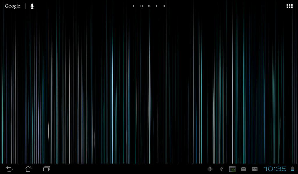 Fading Lines Live Wallpaper - screenshot