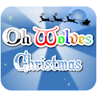 Oh Wolves Christmas icon