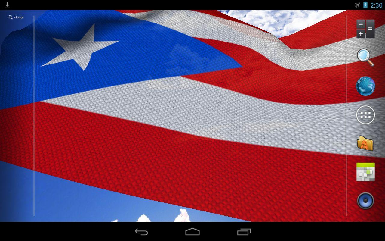 3d puerto rico flag lwp android apps on google play