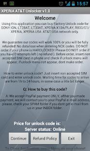Unlock XPERIA