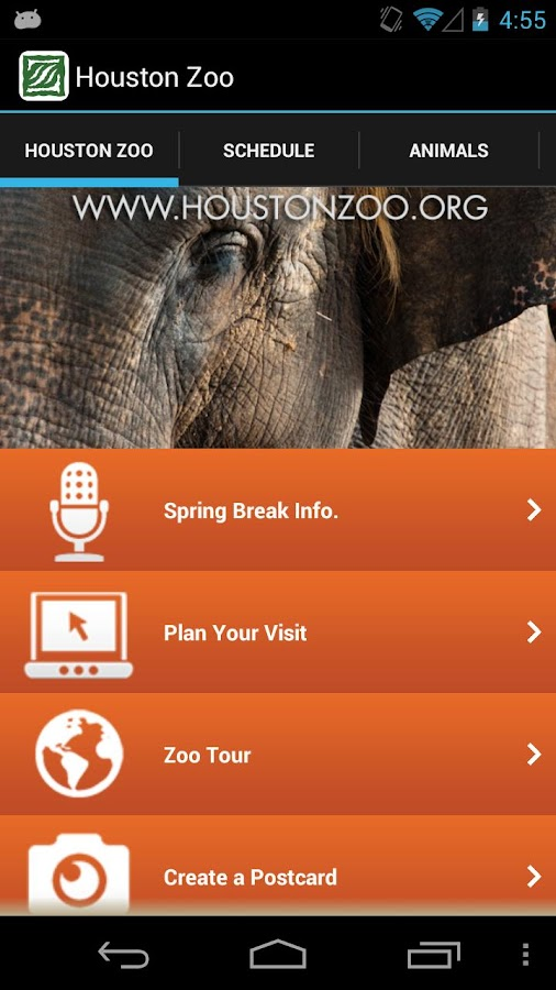 Houston Zoo - screenshot