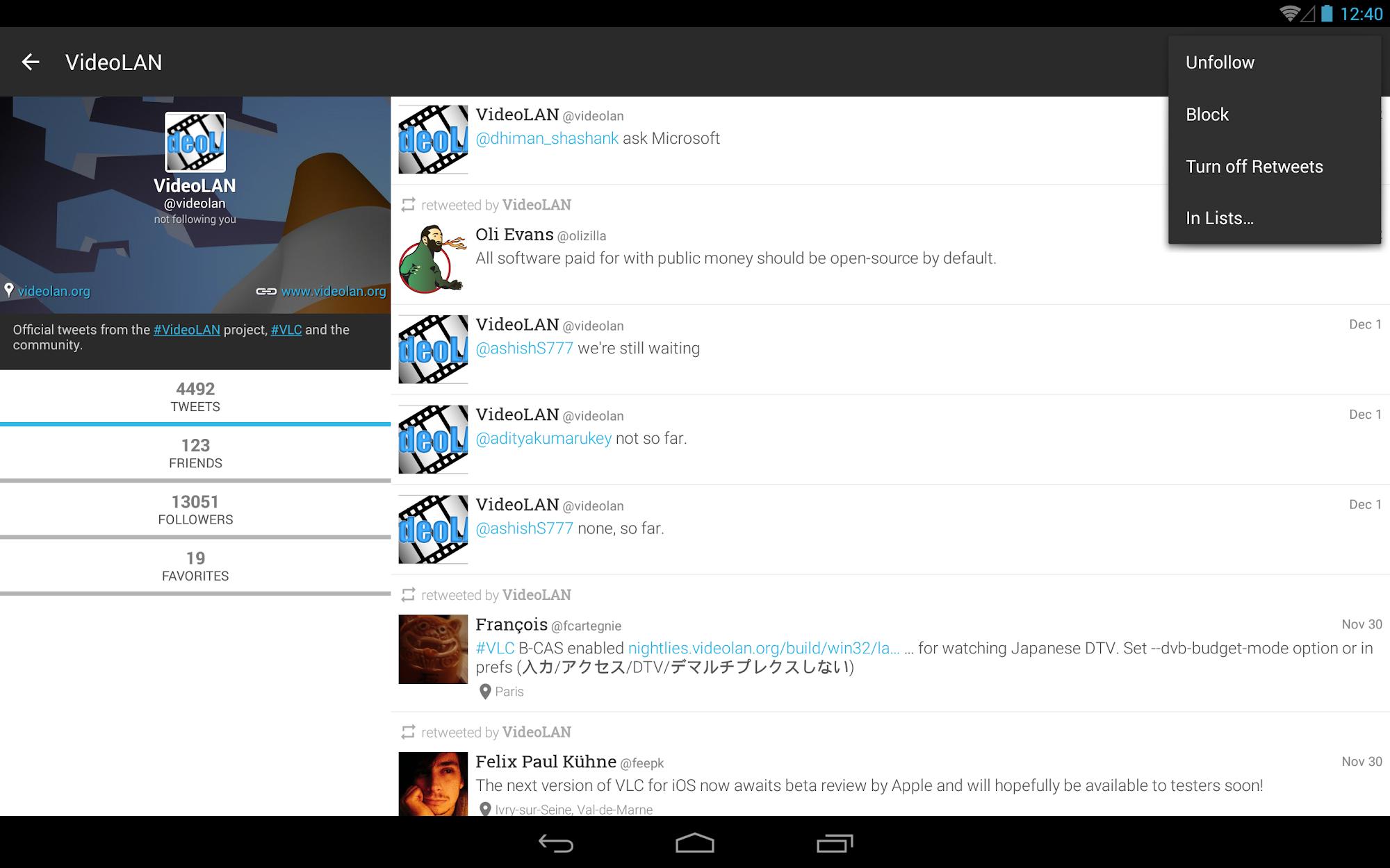 Plume for Twitter screenshot #10
