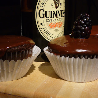 Chocolate Stout Cupcakes.
