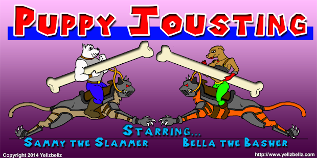 Puppy Jousting- screenshot thumbnail