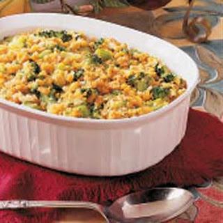 Broccoli Corn Casserole.