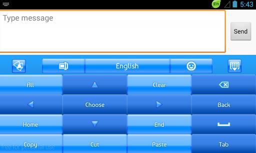 GO输入法蓝色霓虹灯|玩娛樂App免費|玩APPs