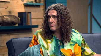 Weird Al Yankovic Wears A Hawaiian Shirt