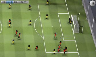 Screenshot of Stickman Soccer