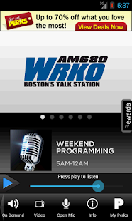 WRKO Talks - screenshot thumbnail
