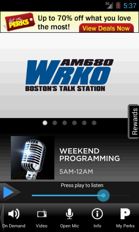 WRKO Talks - screenshot