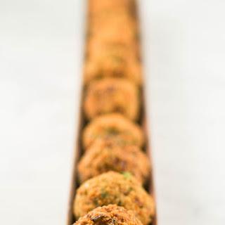 Authentic Homemade Falafel.
