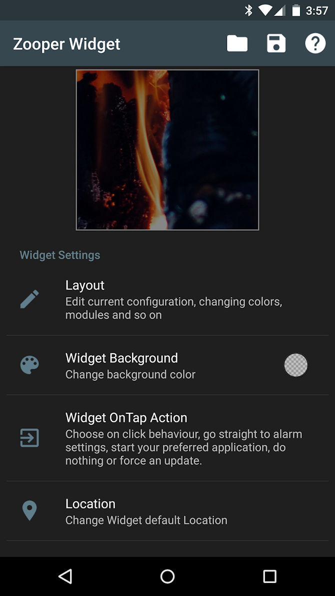 Zooper Widget Pro Android 7
