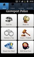 Screenshot of Groveport Police