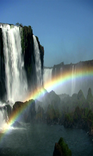 Waterfall & Rainbow Wallpaper- screenshot thumbnail