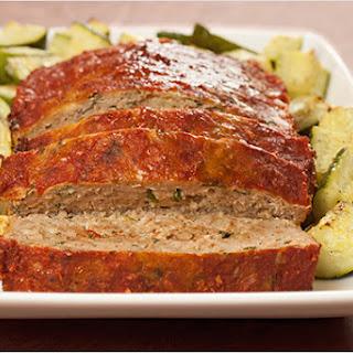 Balsamic-Basil Turkey Meatloaf.