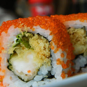 Delicious Sushi by Diadjeng Laraswati H - Food & Drink Eating ( , Food & Beverage, meal, Eat & Drink )