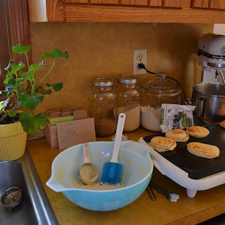 Blender Banana Oat Pancakes.