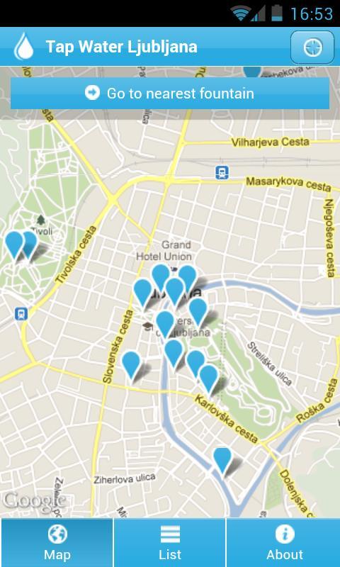 Tap Water Ljubljana- screenshot