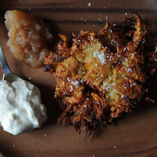 Variegated Spiced Latkes
