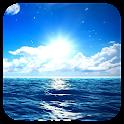 Blue Ocean Live Wallpaper Free icon