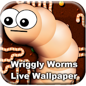 Wriggly Worms Live Wallpaper