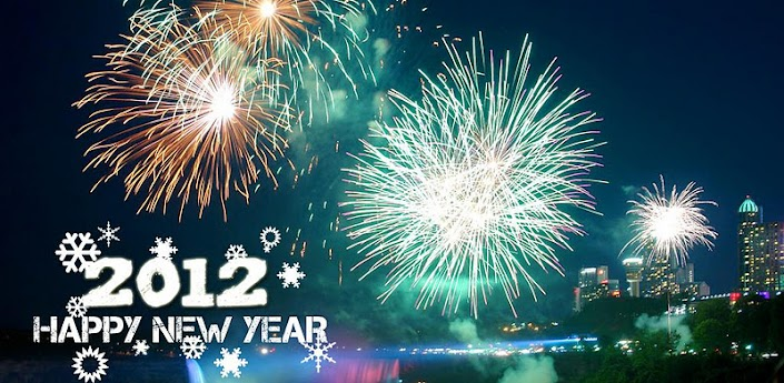 New Year 2012 Live Wallpaper