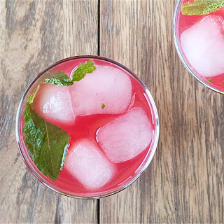 Cranberry-Citrus Mocktail with Mint