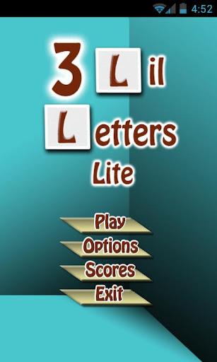 3 Lil Letters Lite