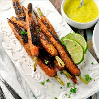 Vindaloo Curry Spiced Carrots