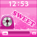 GO Locker Pink iPhone Theme icon