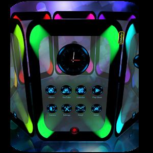 FutureTech Next Launcher Theme APK