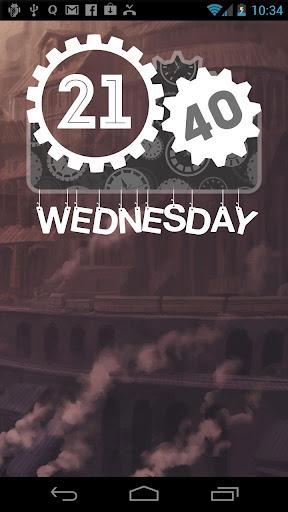 Steampunked Zooper Widget